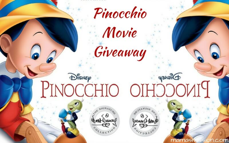 If you could wish upon a star, what would you wish for? Introduce your kids to the timeless Disney classic with the Pinocchio Movie Giveaway!