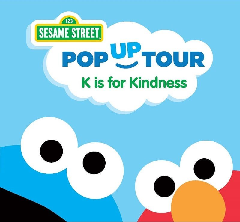 Join your favorite friends from Sesame Street for a free family event - Sesame Street K is for Kind­ness Pop Up Tour in South Florida on 1/21/17.