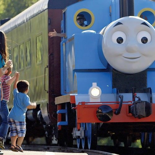 All Aboard! Join Thomas & Friends for Day Out with Thomas in Miami for two exclusive weekends March 4 - 5 and March 11 - 12 for a fun family day outing.