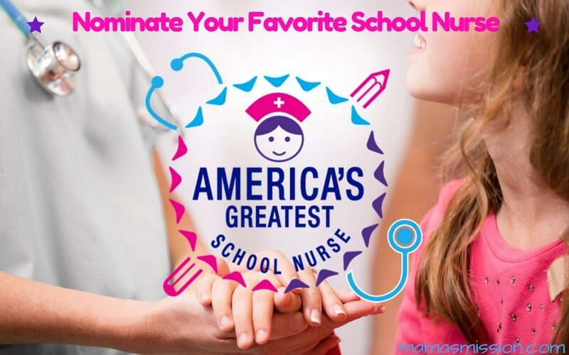Do you know an amazing school nurse who goes beyond the call of duty? Nominate your favorite school nurse today in America's Greatest School Nurse contest.