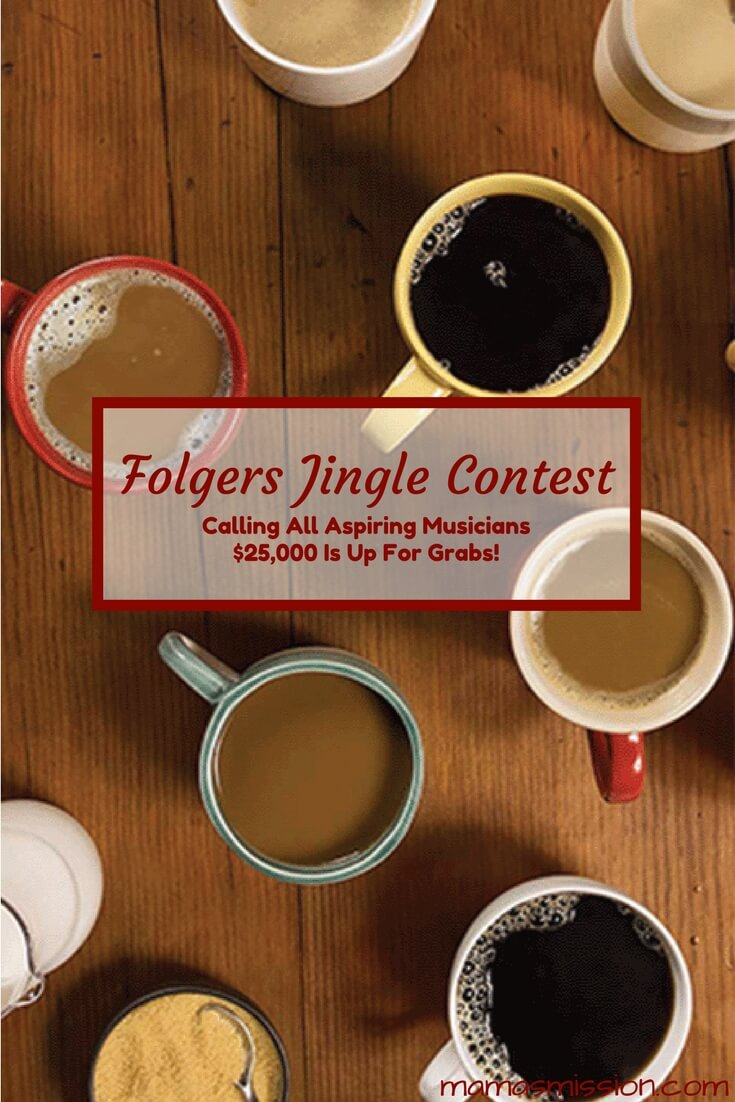 Calling all aspiring musicians! Do you think you have what it takes to wake up $25,000 richer? Enter the Folgers Jingle Contest for your chance to win.