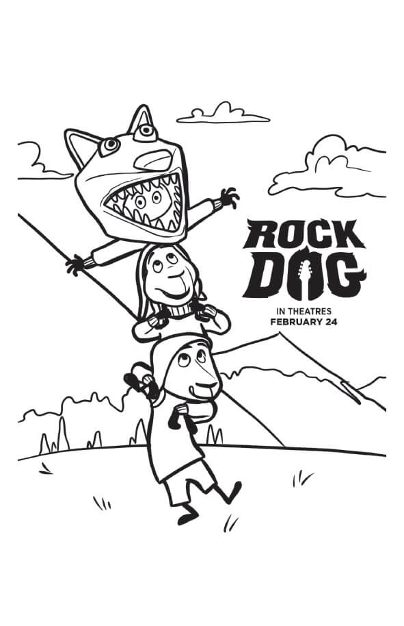 Rock out with these rocking Rock Dog coloring pages and activity sheets! Celebrate the amazing pets in your life with these free printables.