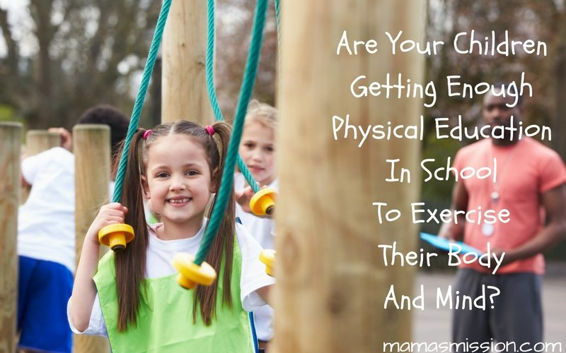 Are your children getting enough Physical Education in school to exercise their body and mind? Children need at least 60 minutes of physical activity a day!