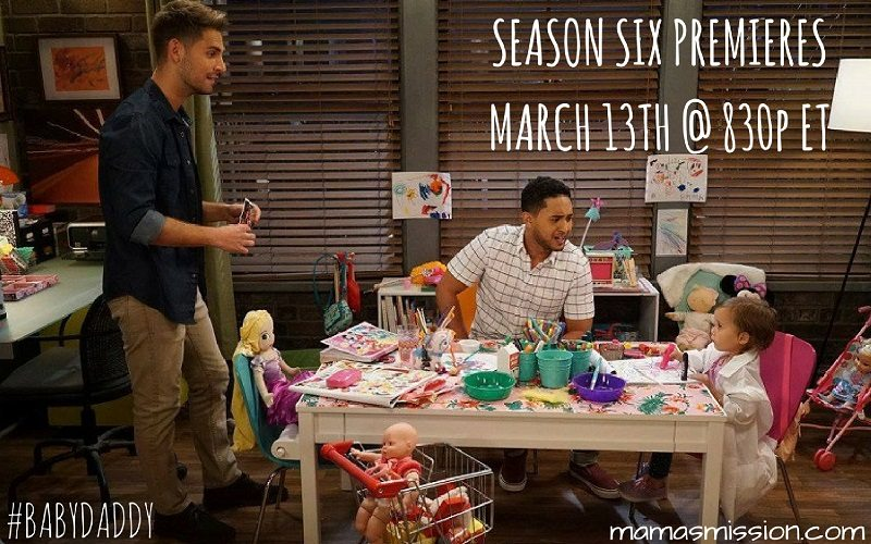 Baby Daddy returns for season six on March 13th at 8:30pm and promises to be the funniest, and most heartfelt season yet! Tune in and catch it on Freeform.