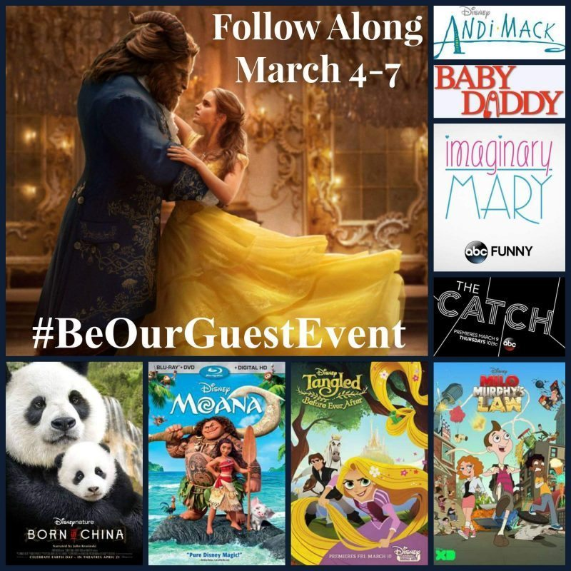 Disney said Be Our Guest and of course I said YES! Follow my trip to LA for Disney's Beauty and the Beast live-action film release with #BeOurGuestEvent.