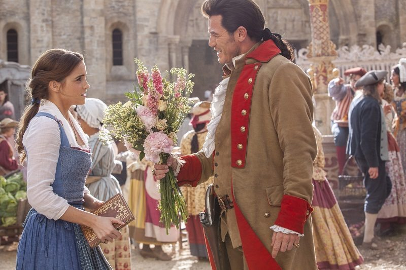 Get behind the scenes of Disney's newest live-action film Beauty and the Beast. My magical interview with Luke Evans and Josh Gad was incredible!