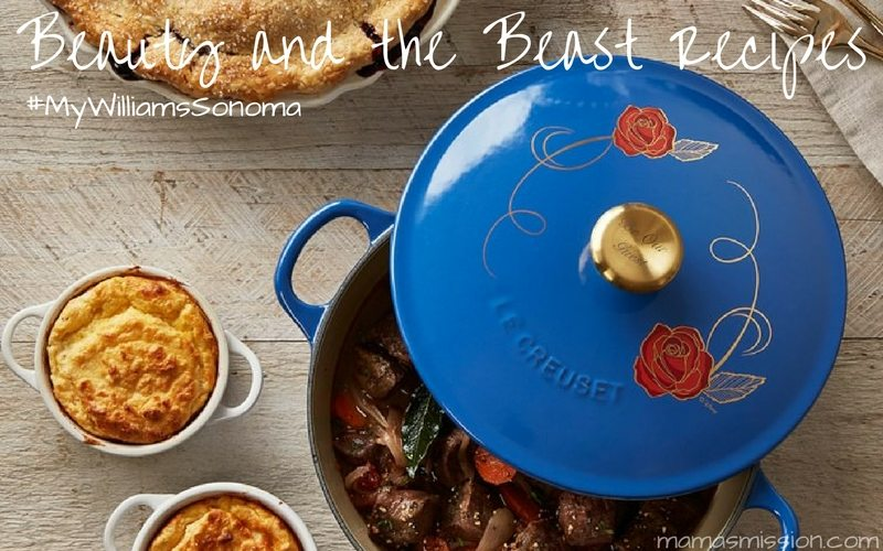 You're invited to Be Our Guest with these Williams Sonoma Beauty and the Beast recipes! Host your very own themed dinner with recipes inspired by the movie.