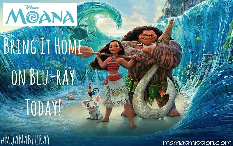 Hit the high seas with Moana on Blu-ray, DVD & Digital HD. Bring it home today for an adventure that will take you across oceans right in your living room.