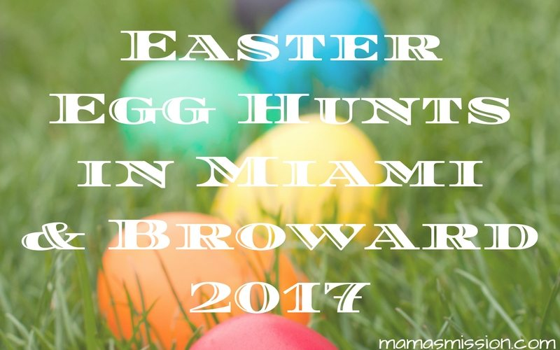 Are you on the hunt for Easter egg hunts in South Florida? Look no further! You can find all the Easter egg hunts in Miami and Broward for 2017 listed here.