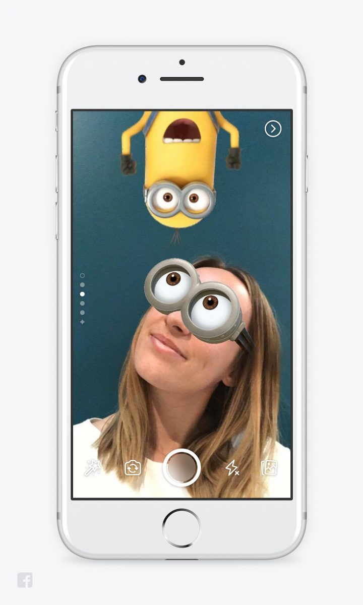 Facebook has made some fun updates to their mobile app. The latest includes the new Facebook Camera Mask and you can transform yourself into a Minion!