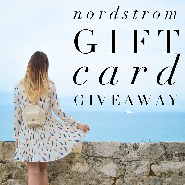 Enter to win the $200 Nordstrom Gift Card giveaway and treat yourself to something fashionable and fun! What would you buy with a $200 Nordstrom gift card?