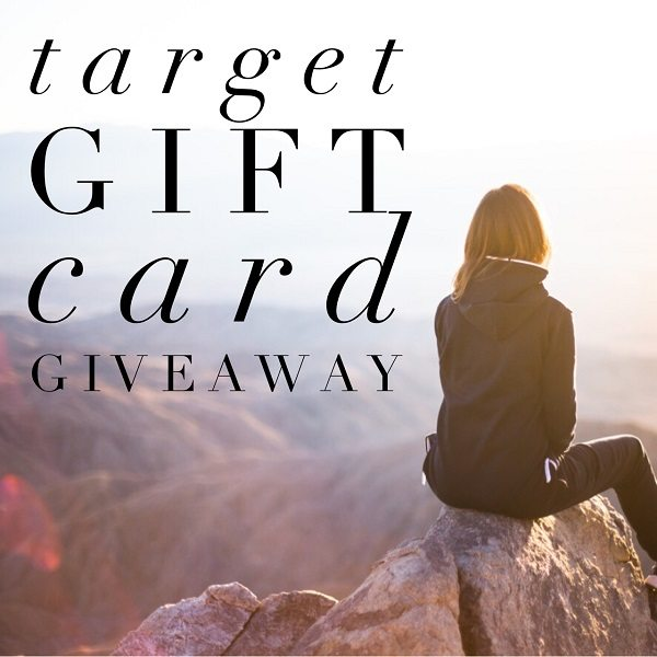 Enter to win the $200 Target Gift Card giveaway and treat yourself to a fun shopping spree! What would you buy with a $200 Target gift card if you won?