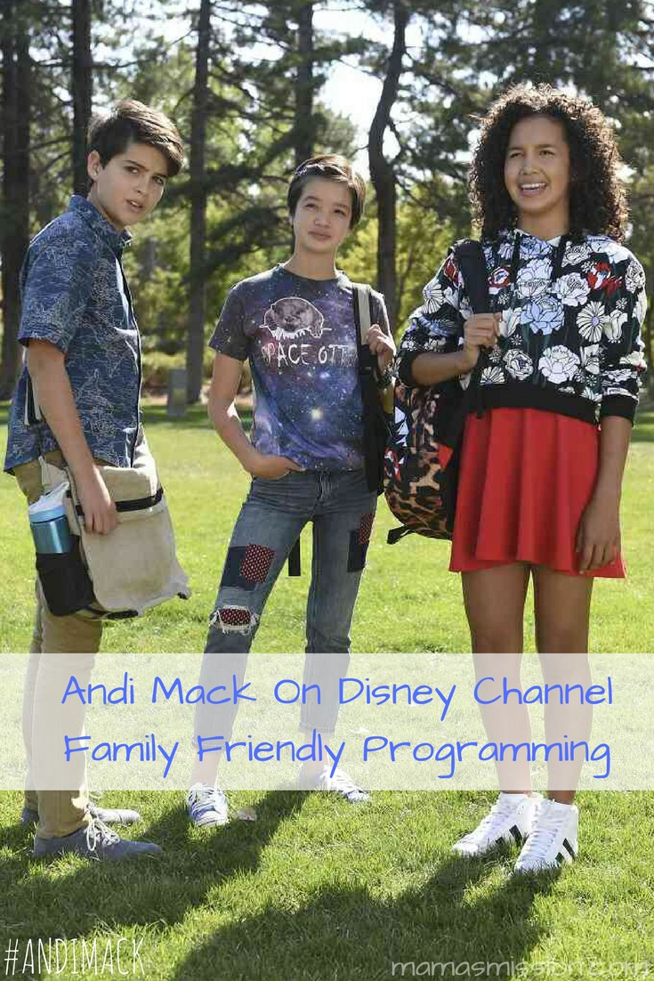 Looking for great family programming? Andi Mack on Disney Channel is for tweens and teens! Catch Andi Mack on Disney Channel at 8:30pm EST on Fridays.