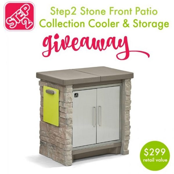 Summer is almost here - is your outdoor living space ready? Enter to win a Step2 Cooler and Ready Shed in the Ultimate Backyard Storage Collection giveaway!