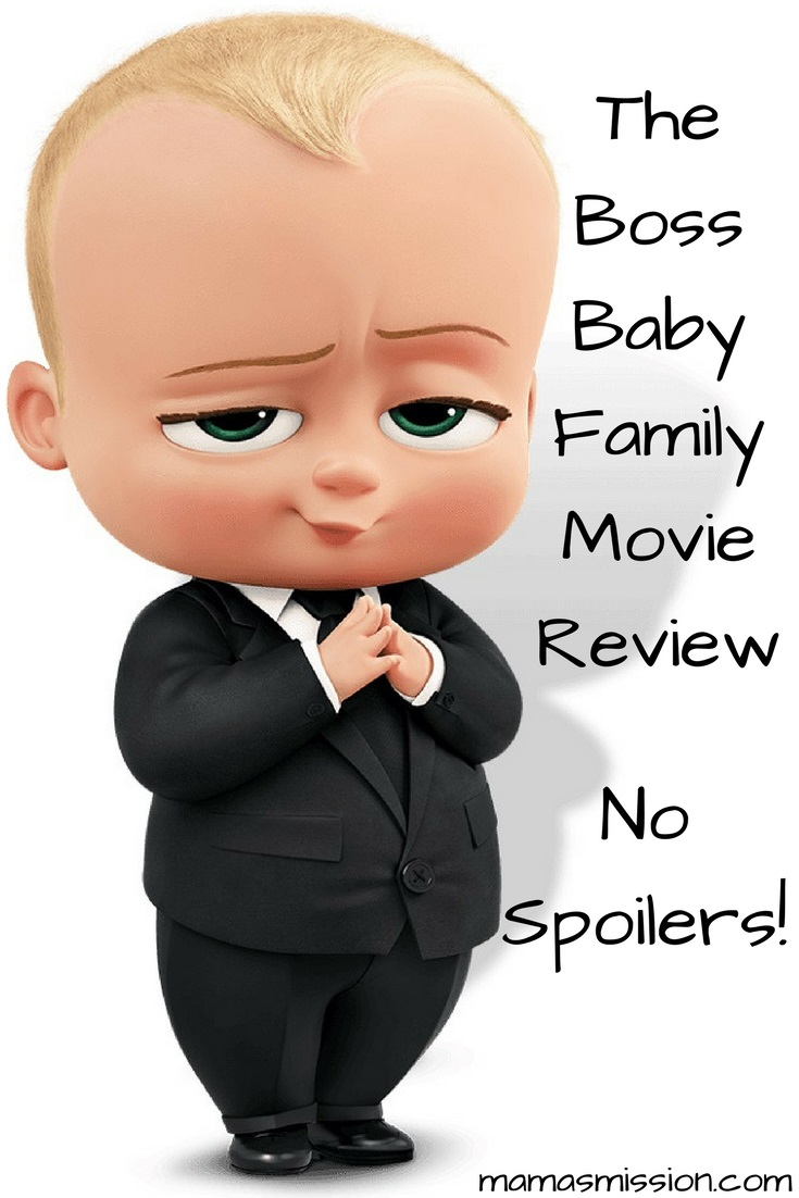 Name the two cutest things in the world - babies and puppies, right? You'll find them both in The Boss Baby. Read the no spoiler The Boss Baby movie review.
