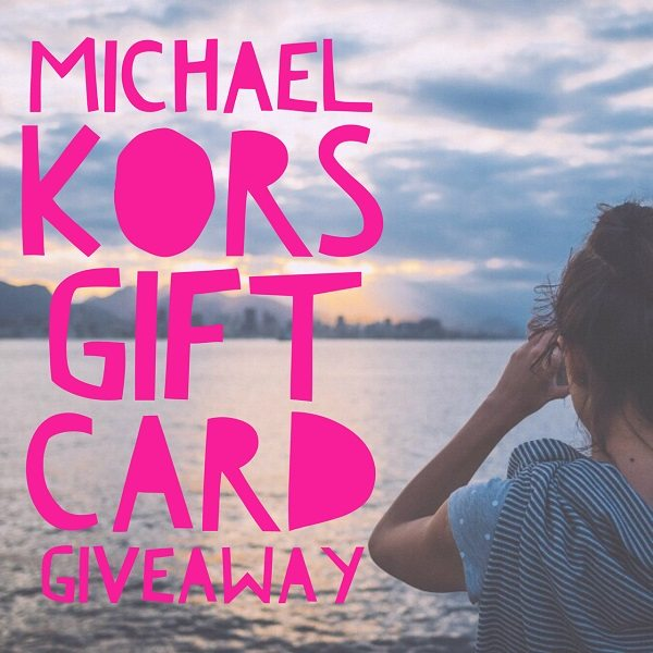 Enter to win the $200 Michael Kors Gift Card giveaway and treat yourself to something fashionable and fun! What would you buy with a Michael Kors gift card?