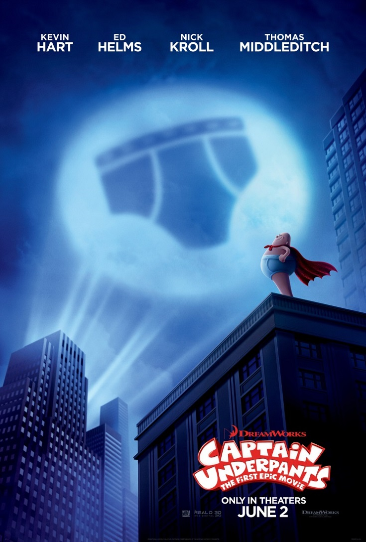 Get your free Captain Underpants The First Epic Movie advance screening passes and see the movie before anyone else! Perfect for fans of the book series.