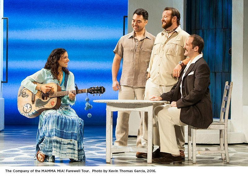 Mamma Mia the Musical is a must see - whenever and wherever you can find it playing! Based on the song of ABBA, Mamma Mia is a winner all around.