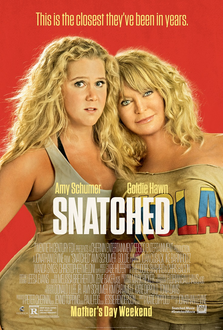 Get your free Snatched advance screening passes and see the movie before anyone else! Opening Mother's Day weekend & starring Goldie Hawn and Amy Schumer.