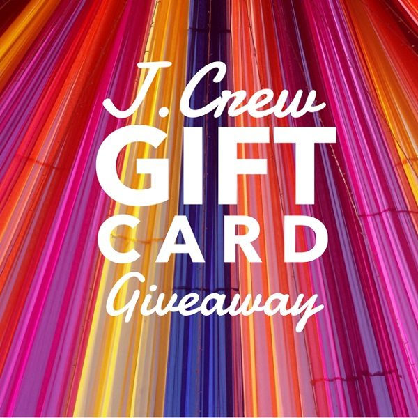 Enter to win the $200 J Crew Gift Card giveaway and treat yourself to a mini shopping spree! What would you buy with a $200 J Crew gift card if you won?