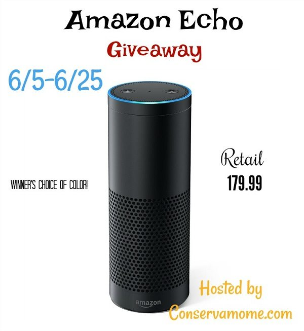 Thank you for being you and helping me grow. Enter the Amazon Echo giveaway for your chance to win one in your choice of color, Black or White!