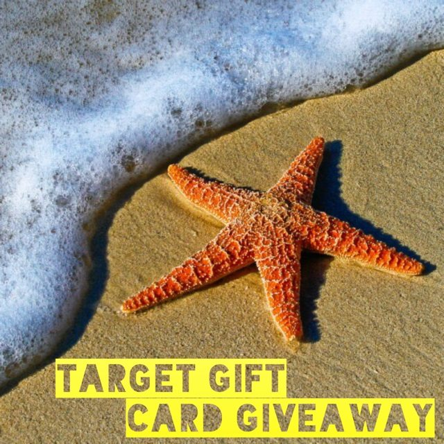 Enter to win the $150 Target Gift Card giveaway and treat yourself to a fun shopping spree! What would you buy with a $150 Target gift card if you won?