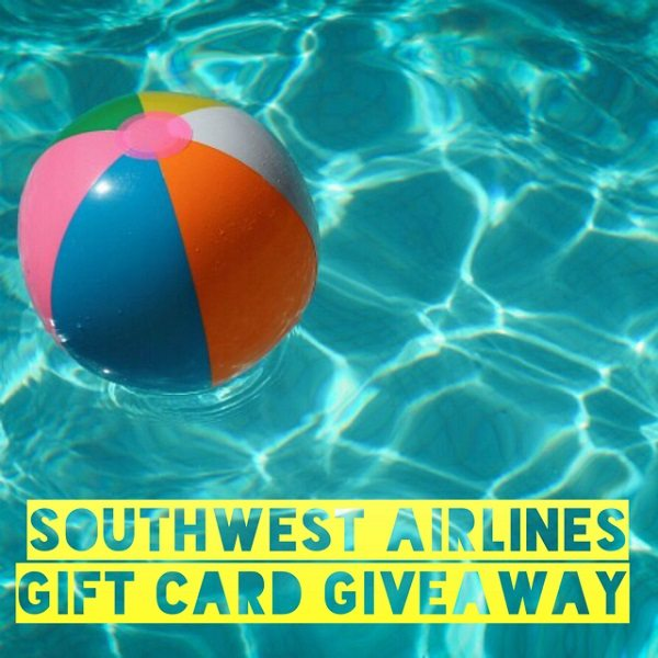 Enter to win the $200 Southwest Airlines Gift Card giveaway and take a flight to your favorite destination! Where would you travel to on Southwest Airlines?