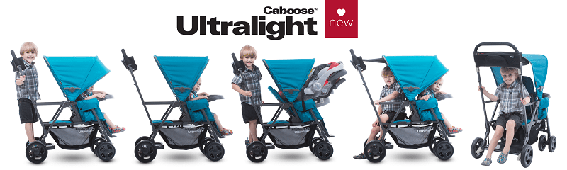 Looking for a durable, functional and worthy double stroller? Look no further than the Joovy Caboose Graphite Stroller and enter to win the giveaway!