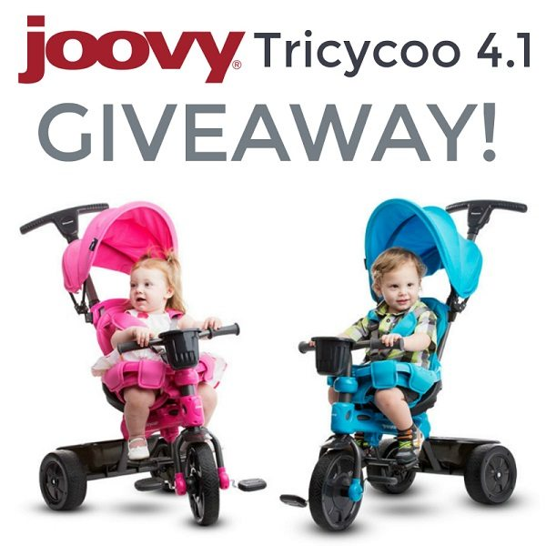 The best childhood gear are items that can last through the different stages and ages of childhood. Enter to win a Joovy Tricycoo 4.1 for your little one!