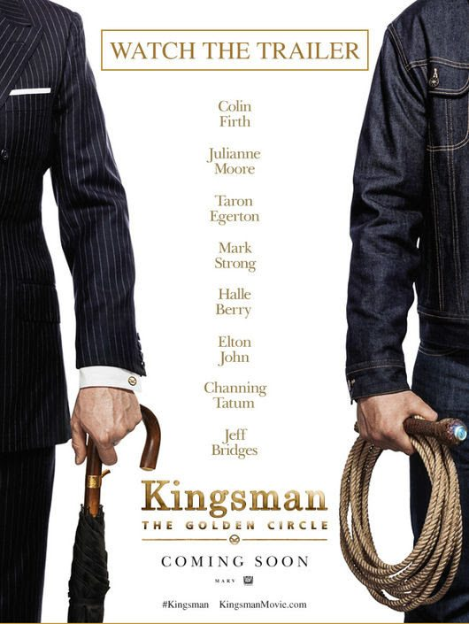 Have you seen the new Kingsman The Golden Circle movie trailer? Check it out and get ready for the return of the Kingsman for your next date night!