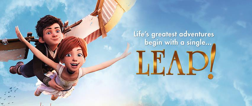 Get your free LEAP Movie advance screening passes and see the movie before anyone else! Be prepared to LEAP into a beautiful family day at the movies.