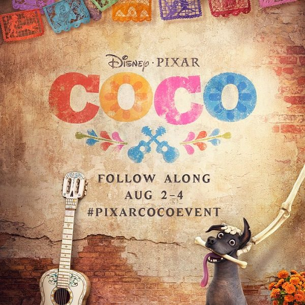 I'm headed back to San Francisco to visit Disney Pixar Studios and the Walt Disney Family Museum. Follow my adventures socially with #PixarCOCOEvent!