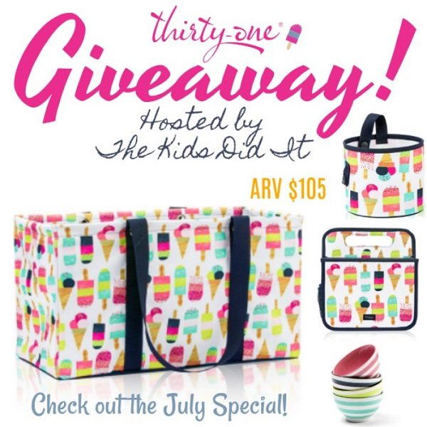 Looking to add some flavor to your summer? Look no further than the new Thirty-One Gifts Sweet Sprinkles collection to own or gift an ice cream lover!