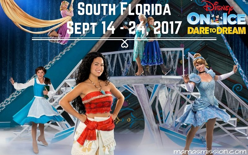 Get ready to see Moana and Disney friends with discounted tickets for Disney On Ice Dare To Dream, exclusive promo code and enter to win a family 4 pack!