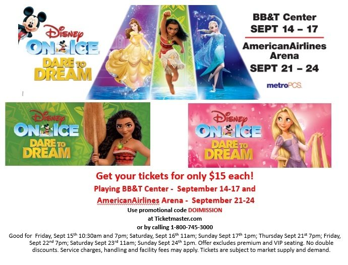 Disney on ice miami coupons