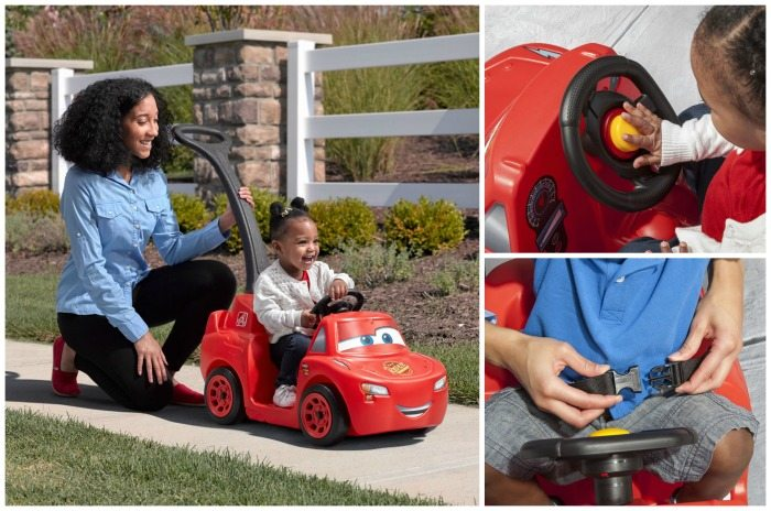 Vroom, vroom! Start your engines...The Step2 Cars 3 Ride Around Racer is here! Enter to win a Step2 Ride Around Racer for your little one to zoom around.
