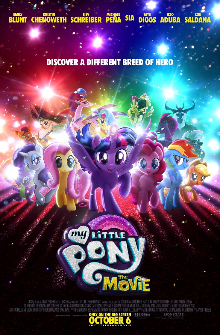 Get your free My Little Pony The Movie advance screening passes and see it before anyone else! Perfect for a beautiful family day at the movies.