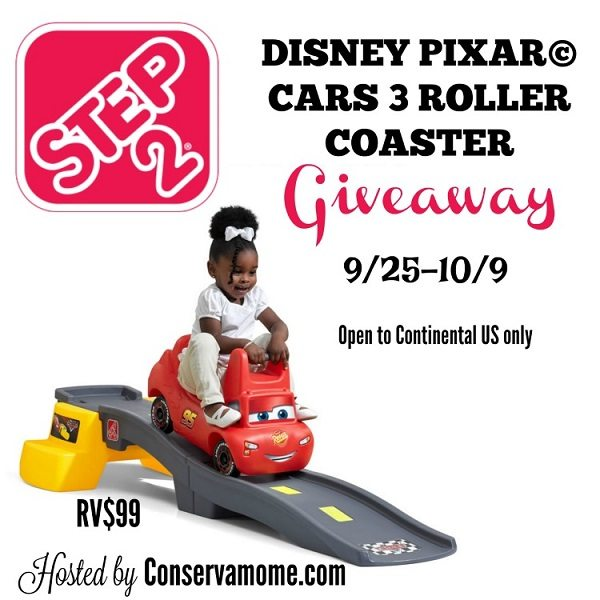 Image having the fun of an amusement park right in your own home? With the Step2 Disney Pixar Cars 3 Roller Coaster you can! Enter to win one today.