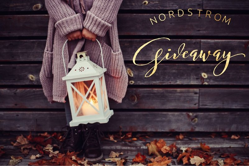 Enter to win the $150 Nordstrom Gift Card giveaway and treat yourself to something fashionable and fun! What would you buy with a $150 Nordstrom gift card?