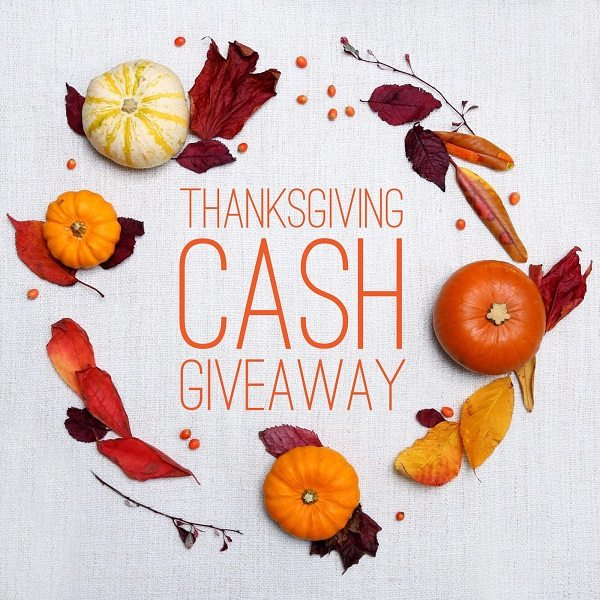 Thanksgiving is almost here and we are ready to celebrate with a $300 PayPal Cash Thanksgiving giveaway. We've got the best goodies in town just for you!