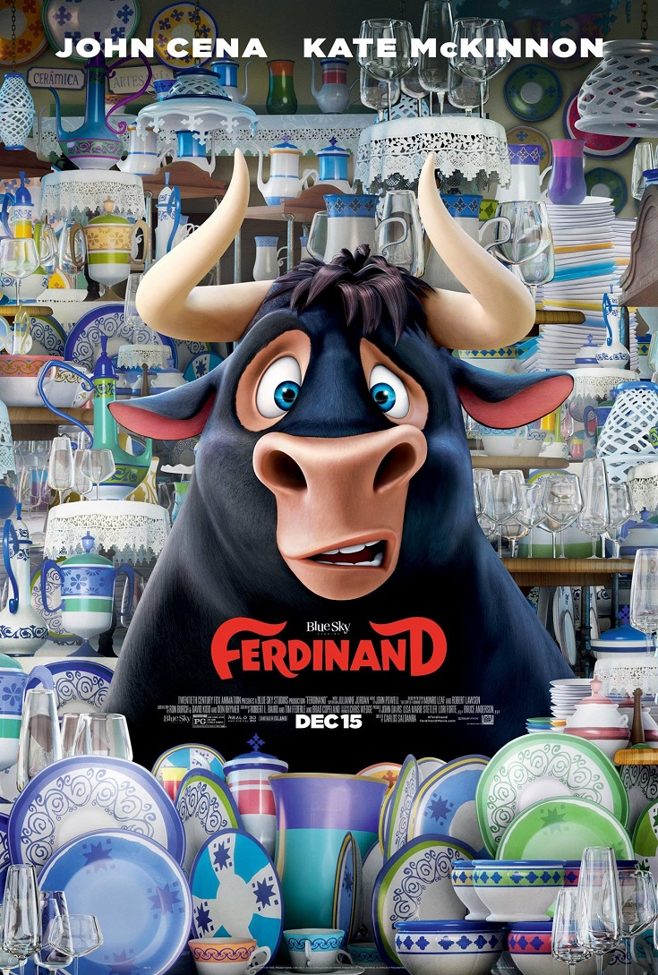 Get your free FERDINAND advance screening passes and see it before anyone else! He's a giant bull with an even BIGGER heart.