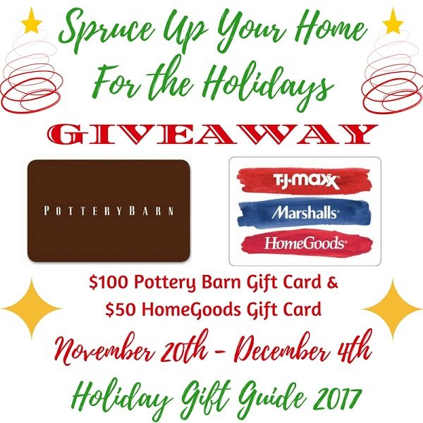 The holidays are just around the corner and it's time to spruce up your home for the holidays! Enter to win two gifts cards valued at $150 to help you out.