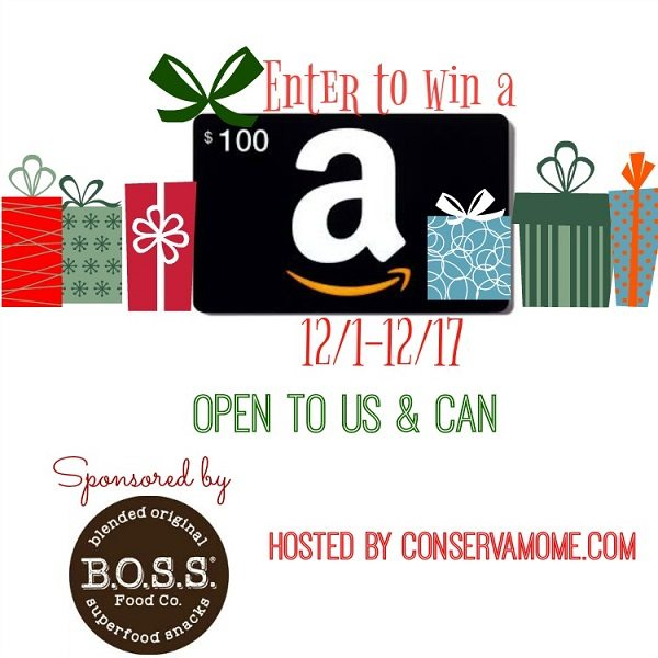 The holidays are here and we'd like to give you a chance to win a $100 Amazon gift card to spend as you please for the upcoming holidays!