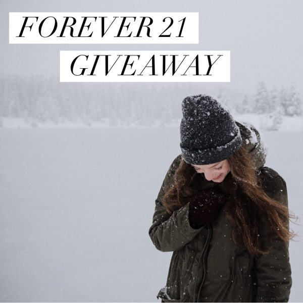 Enter to win the $150 Forever 21 Gift Card giveaway and let your fingers do the shopping for you! What would you buy with a $150 Forever 21 Gift Card? Who would you go shopping for?