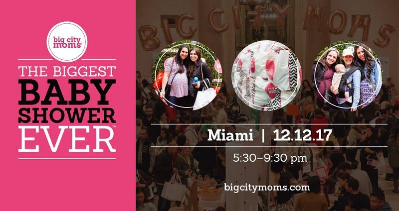 Get discounted tickets for Big City Moms Biggest Baby Shower Ever Miami and enjoy a beautiful night out. Plus enter to win a giveaway to this amazing event!