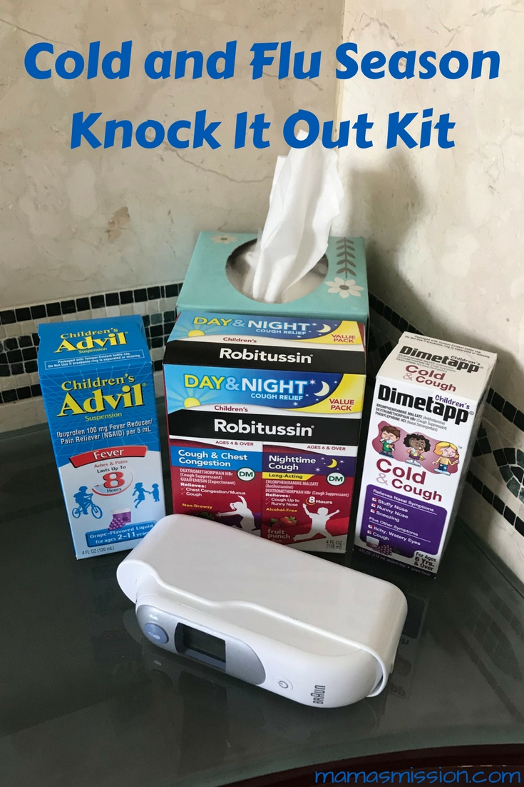 If sick just got real in your home would you be prepared to comfort your child? Cold and Flu Season is here. Learn more about how to Knock It Out and enter to win the giveaway.