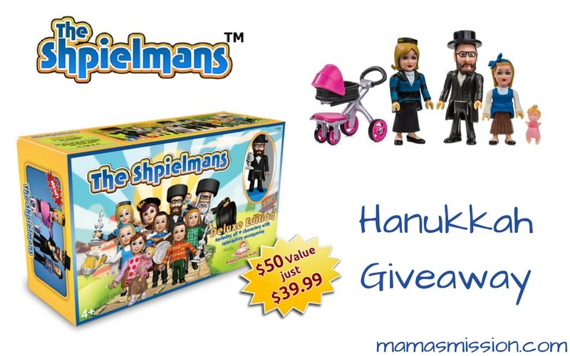 Meet the Shpielmans! They are a Jewish family teaching the values of Shabbos to your little one. Makes a great Hanukkah gift for learning through play.