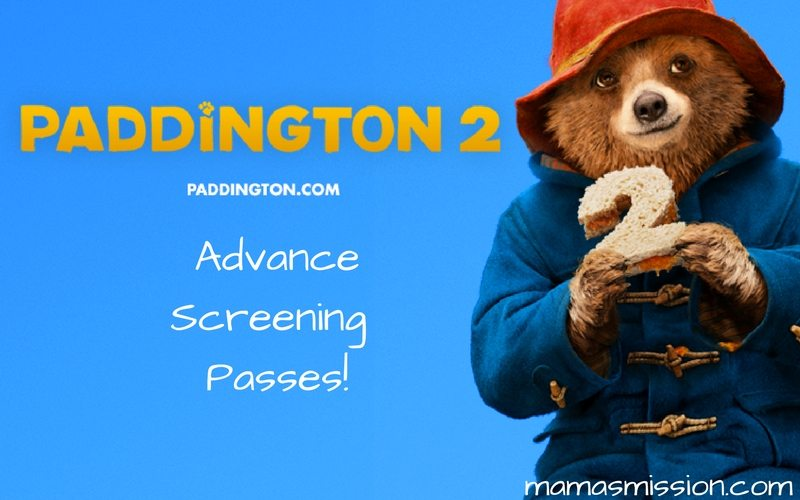 Get your free Paddington 2 advance screening passes and see it before anyone else! Enjoy a family movie date as Paddington takes you on an adventure through London to stop a thief.