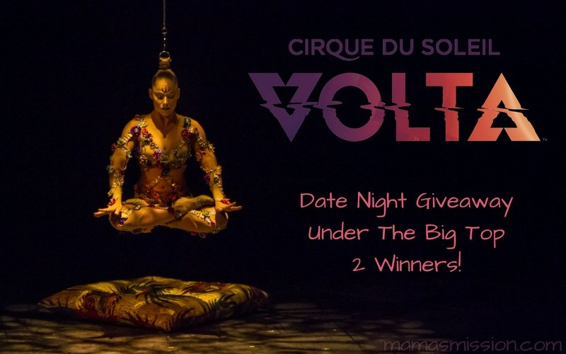 Cirque du Soleil VOLTA is in Miami and I want you to see it. Enter to win a pair of date night tickets in the Cirque du Soleil VOLTA tickets giveaway. Two winners will be announced on January 16, 2018!