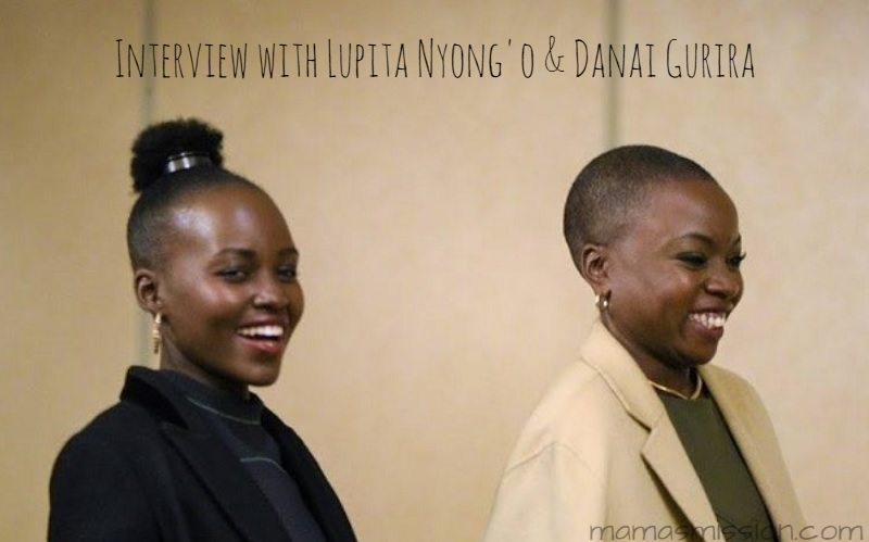 What does it take to be the fiercest, strongest women of Wakanda? Grab a cup of coffee while you dive into my interview with Lupita Nyong'o and Danai Gurira, the Warriors of Wakanda!